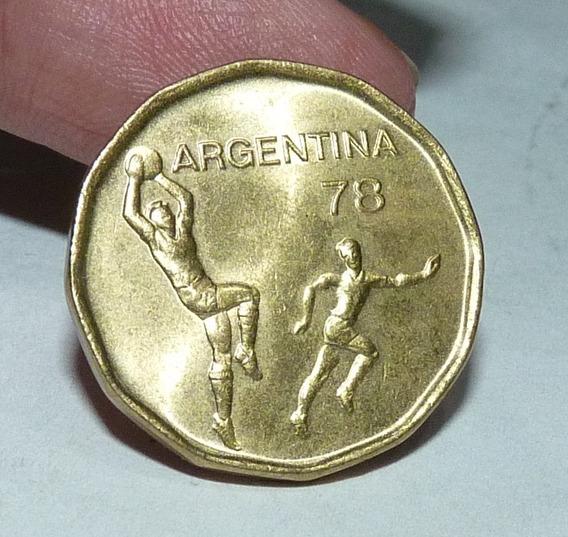 Moneda Argentina 20 Pesos Mundial 78.