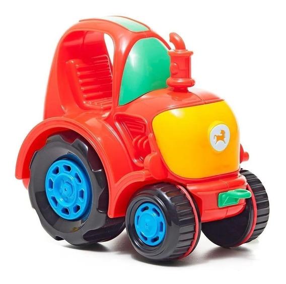 Pequeño Tractor Juguete Calesita 6013