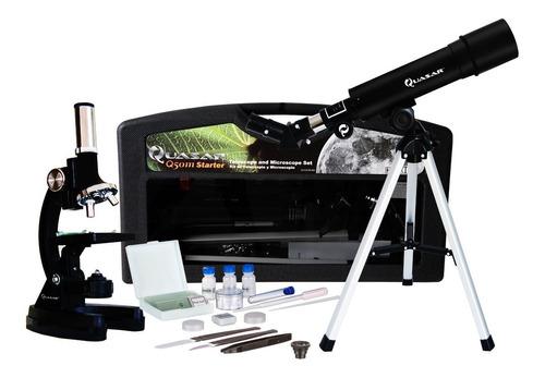 Telescopio Y Microscopio Quasar Q50m Con Maleta