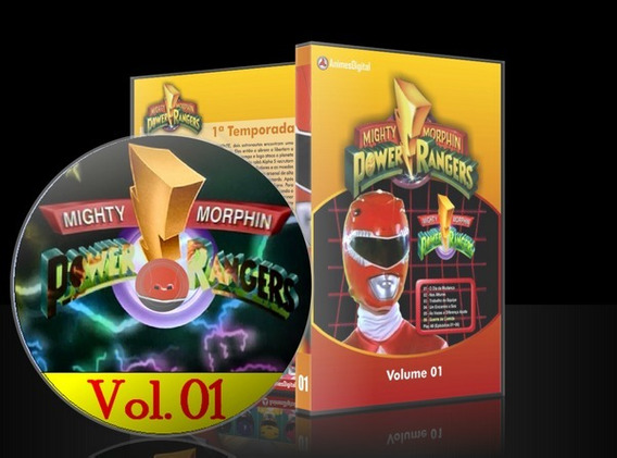 Dvd Power Rangers Mighty Morphin