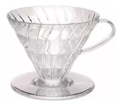V60 Coffe Dripper - N.02- Transparente