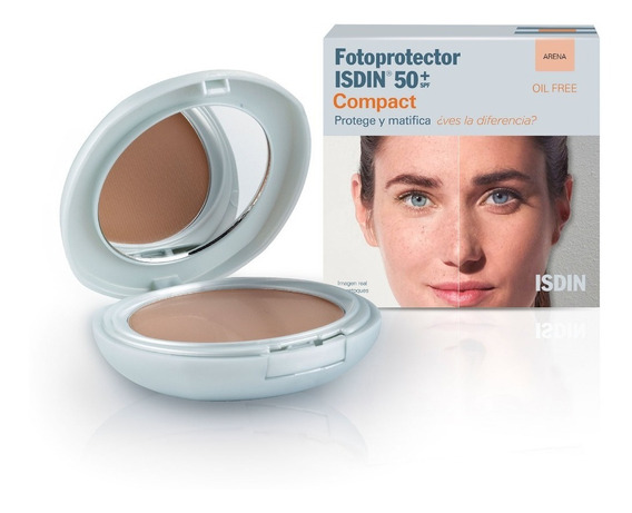 Isdin Fotoprotector Compact 50+ Color Arena 10 Gr