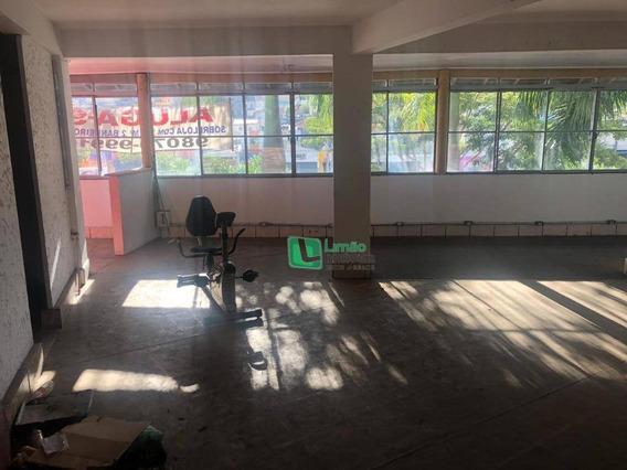Salão Para Alugar, 210 M² Por R$ 2.000/mês - Mandaqui - São Paulo/sp - Sl0043