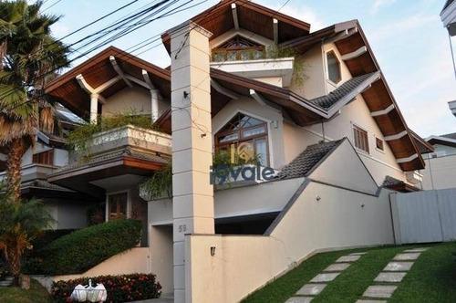 Casa Com 5 Dormitórios À Venda, 400 M² Condomínio Sunset Jardim Aquarius - São José Dos Campos/sp - Ca0928