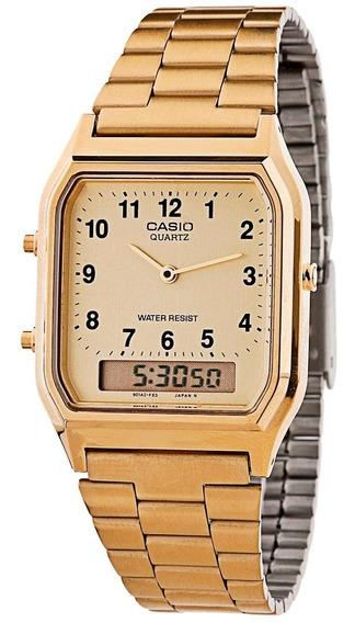 Relógio Casio - Vintage - Aq-230ga-9bmq