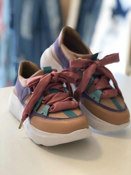 Tênis Chunky Sneaker Blogueiras