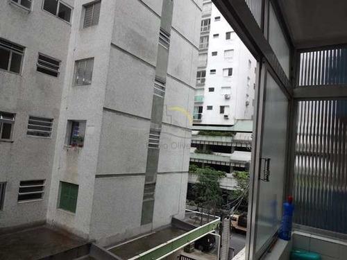 Imagem 1 de 16 de Apartamento Com 1 Dorm, Ponta Da Praia, Santos - R$ 270 Mil, Cod: 2984 - V2984