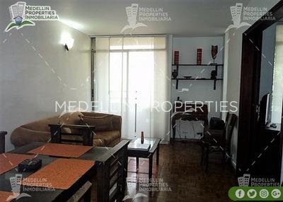 Arrendamiento Amoblados Por Meses Medellín Cód: 4443