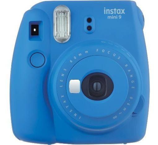 Câmera Fujifilm Instax Mini 9 Com Alim. Automática Azul