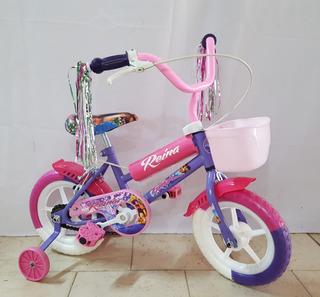 Bicicleta Nena Rodado 12 Dia Del Niño