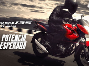 Bajaj Rouser 135 - 0 Km - Bonetto Motos - (no Cg Ni Ybr )