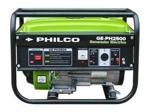 Grupo Electrogeno Generador 2200w Philco Ge-ph2500 Cuotas D