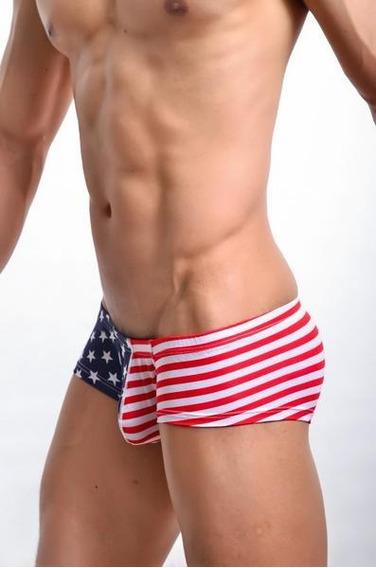 Sexy Boxer Bandera Usa Estrellas Star Stripes Ricardo Milos