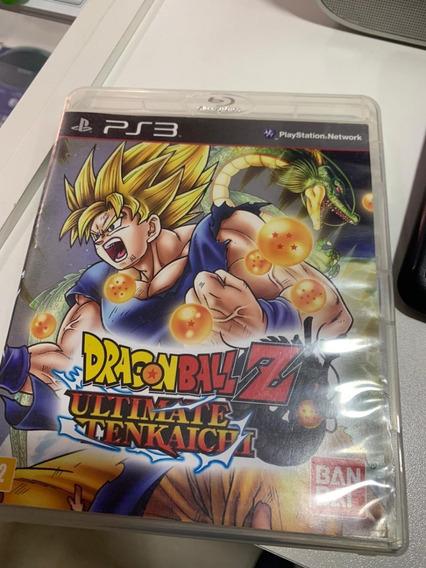 Dragon Ball Z Ultimate Tenkaichi Ps3 Midia Fisica