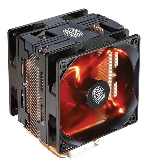 Cooler Hyper 212 Turbo Led Vermelho - Black - Cooler Master