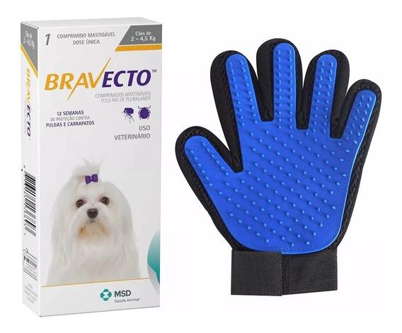 Antipulgas Bravecto Cães De 2 A 4,5 Kg + Super Brinde