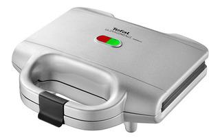 Sandwichera Automática T-fal Inoxidable Silver Para 2 Panes Ultra Compacto Tefal Placas Removibles