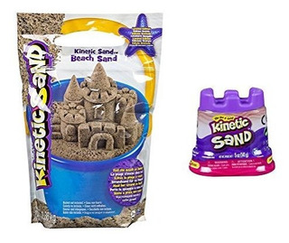Kinetic Sand - 3lb - Beach Sand By Spin Master - Wac