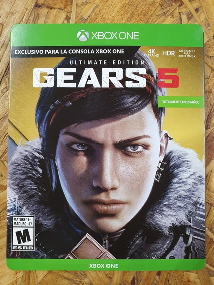 Gears Of War 5 Ultimate Edition Steelbook Nuevo Sellado