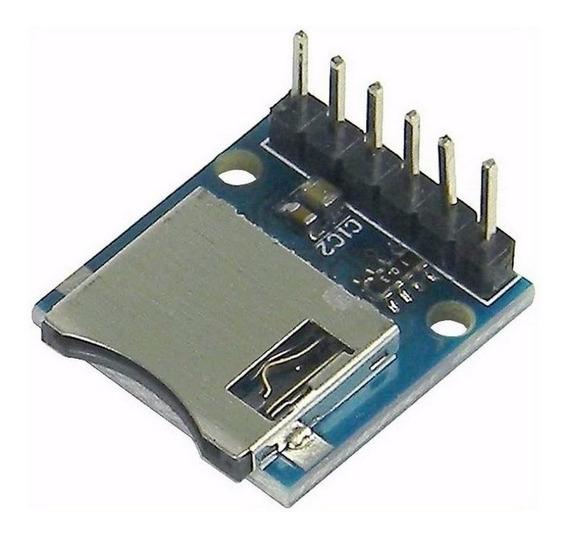 Modulo Micro Sd Card 3v3 Arduino Pic