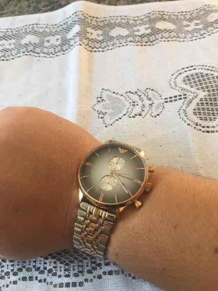 Relógio Armani Ar 1721 Rosê S/ Caixa