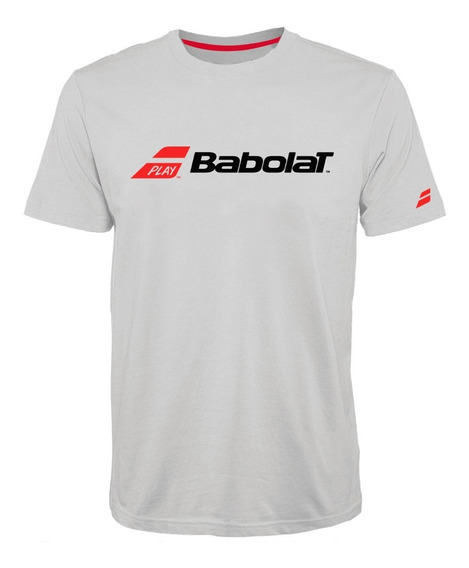 Remera Babolat Hombre Classic Blanco