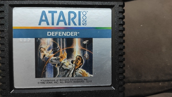 Cartucho Atari 5200- Defender