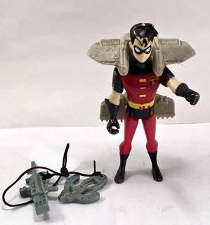 Batman Serie Animada Figura Robin Glider Hasbro 1999