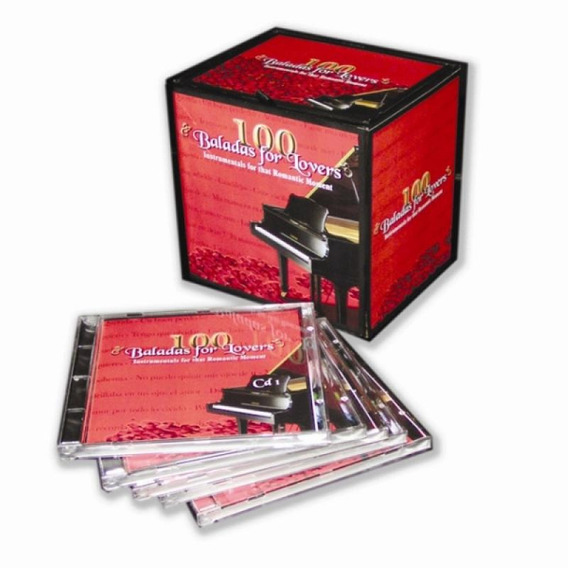 Box 100 Baladas For Lovers - 5 Cds Instrumental