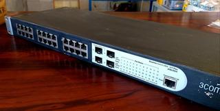 Switch 24 Portas 3com | 2924 - Spf Plus