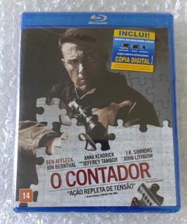 Blu-ray O Contador-ben Affleck-novo E Dublado(frete 10)