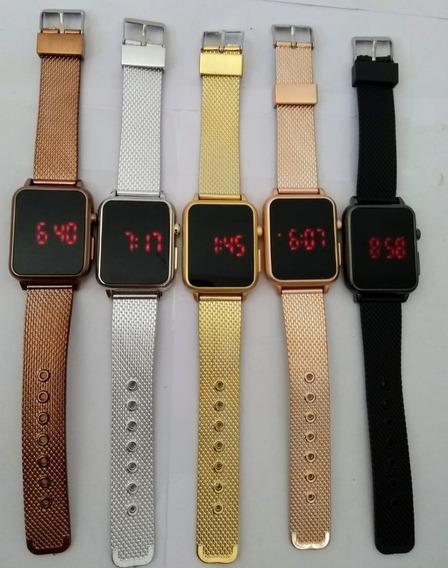 Relógio Led Watch Unissex Feminino + Brinde Luxo