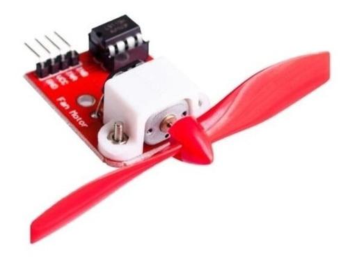 Imagem 1 de 1 de Shield Arduino | Módulo Helice/fan (l9110)