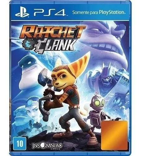 Jogo Ratchet & Clank - Ps4 - Playstation 4 Mídia Física