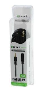 Extensión Cable Auxiliar 3.5mm 5m Sivivi, 10piezas Mayoreo