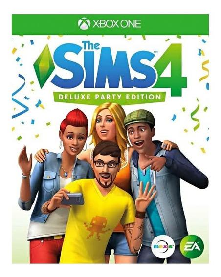 The Sims 4 Festa Deluxe Midia Digital Xbox One + 1 Jogo