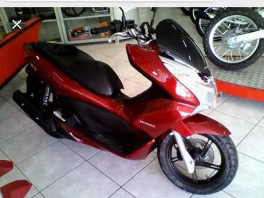 Moto Pcx 2014 150 Cilindradas Doc Ok Ipva 2018 Pago