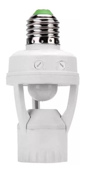 Soquete Lampada Bocal E27 Sensor De Movimento 360º Presença