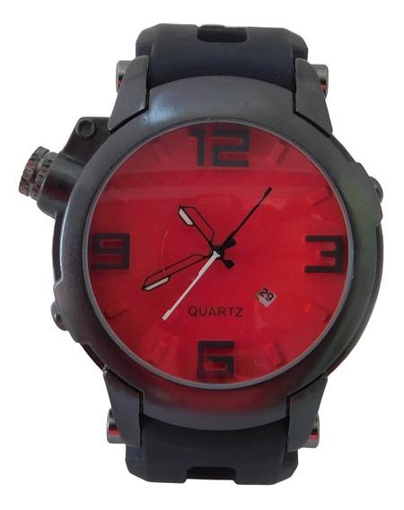 Relógio Masculino Esportivo Super Resistente Com Calendário
