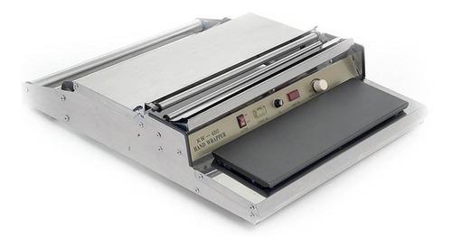 Imagen 1 de 4 de Termoselladora Aplicadora De Film De 45 Cm. Acero Inox. Hw-4