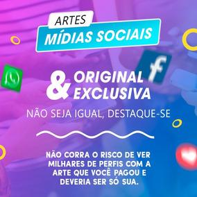 Pacote 30 Artes De Redes Sociais - Facebook E Instagram