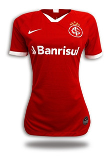 Camiseta Feminina Internacional 2019/20 - Nova Camisa Inter