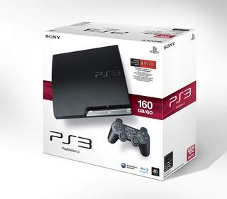 Consola Ps3 160gb Slim Original Nueva Sellada