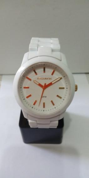 Relógio Technos Branco Acrílico