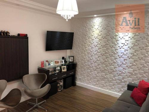 Apartamento Com 2 Dormitórios À Venda, 60 M² Por R$ 355.000,00 - Vila Formosa - São Paulo/sp - Ap3153