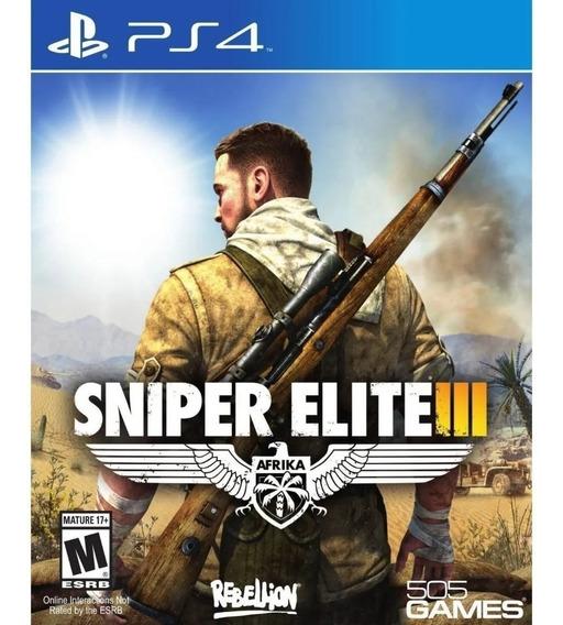 Sniper Elite 3 Ps4 Envio Imediato!