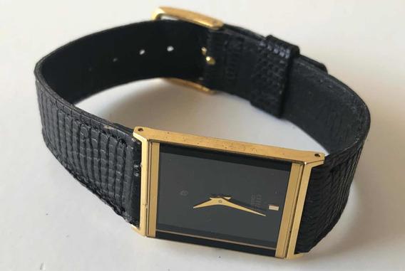 Reloj Citizen Vintage 80s Piel Negra Original Caballero