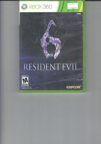Resident Evil 6 Mídia Física Xbox 360