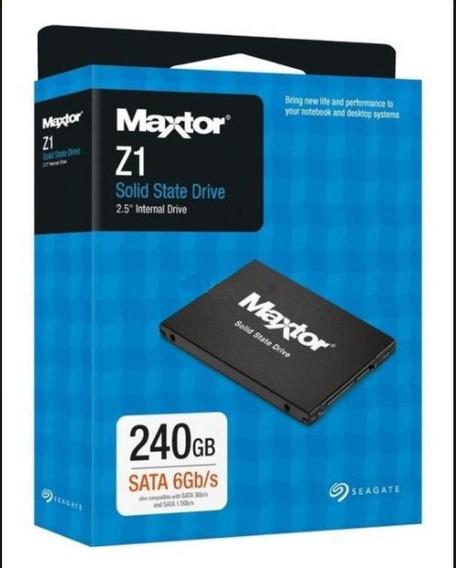 Hd Ssd 2.5 Seagate Maxtor Z1 240gb