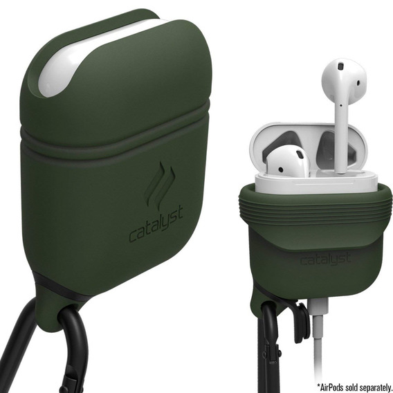 Funda Silicona Catalyst Apple AirPods Waterproof Green